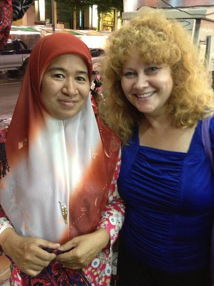 Aunty Sandy and her Muslim friend